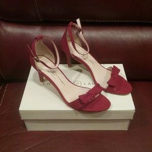 NEW w/Box Red Chinese Laundry Heels 7.5 FinalPrice